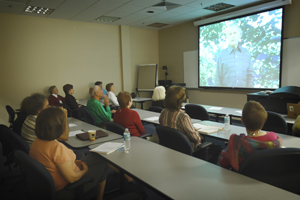 Seniors take part in the Osher Lifelong Learning Institute at UNF.