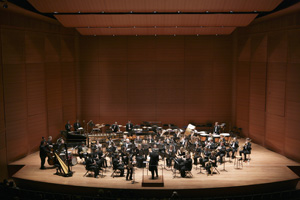 The UNF Wind Symphony played the famed Lincoln Center for the Performing Arts in April.