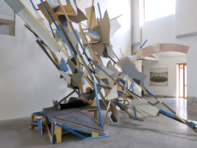 "MOCA presents its second ""Project Atrium"" series with a display from sculptor Gustov Godoy."