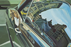 "Richard Estes' ""Untitled (Car Reflection)"" will be featured during the exhibition."
