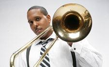 Trombonist, composer and music educator Vincent Gardner
