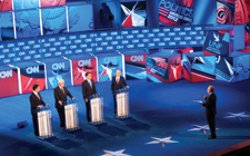 UNF basks in international spotlight during CNN debate
