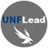 UNF Lead with osprey in a gray circle