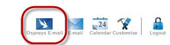 Ospreys Email Icon in myWings