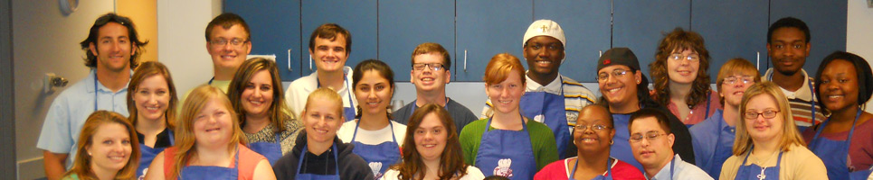OCT Students in cooking class