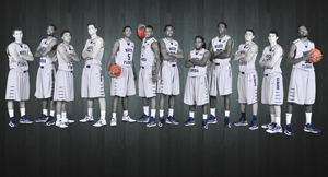 The mens's basketball team.