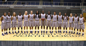 The women's basketball team