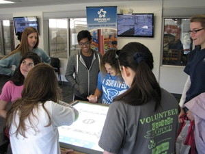 A group of UNF students took a look at how Jacksonville recycles (Photos submitted by James Taylor).