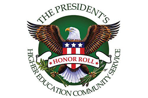 A picture of the Higher Ed Honor Roll logo