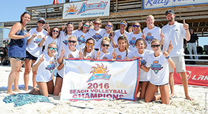 UNF beach volleyball champs