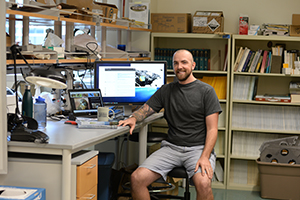 Visiting scientist and UNF alum Dr. Curtis Burkhalter to teach class next term
