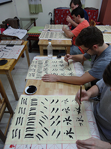Students participating in China in Context, a study abroad with Drs. Sarah Mattice and Paul Carelli planned again for summer 2017.