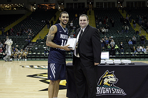 UNF's Dallas Moore winning All-Tournament honors award