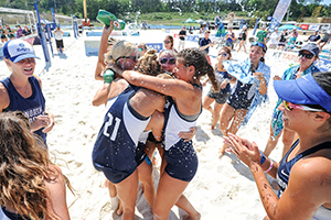 UNF beach team takes conference