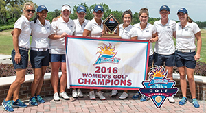 UNF women's golf champs