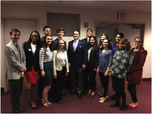 Student Government members visit Tallahassee