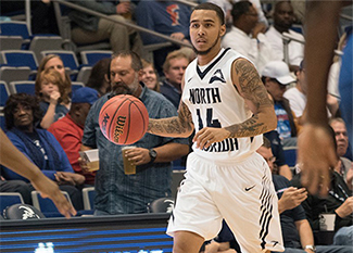 UNF former basketball player Dallas Moore