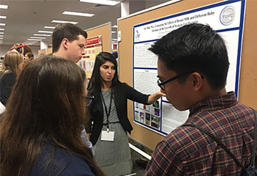 UNF students share research at Florida conference