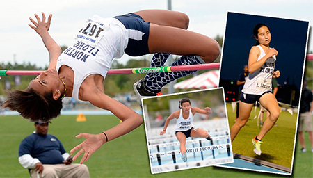 UNF women's track and field