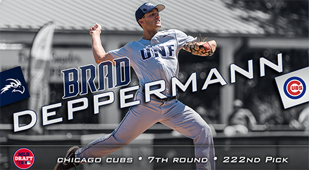 Baseball player Brad Deppermann 22nd pick for the Chicago Cubs