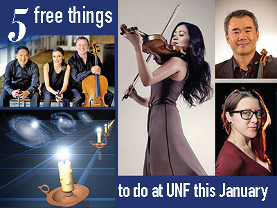 Five free things to do at UNF in January