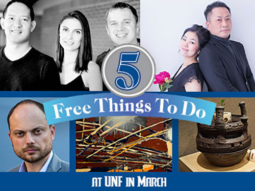 Five Free Things to Do at UNF in March