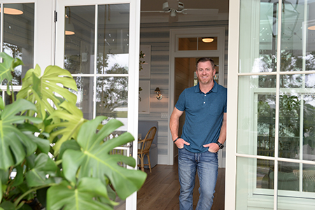 UNF alum, Matt Birdwell, was project manager of the 2019 Southern Living Idea House
