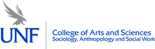 COAS Sociology, Anthropology, and Social Work Horizontal Logo