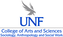College of Arts and Sciences Sociology, Anthropology, and Social Work Vertical Logo