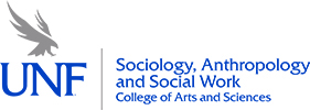 Sociology, Anthropology, and Social Work COAS Horizontal Logo