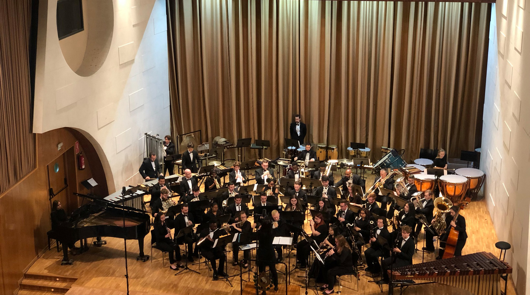 UNF Wind Symphony performance from 2019