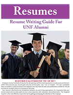 Alumni Resume Writing Guide Cover