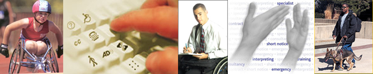 Banner for Disability Career Resources
