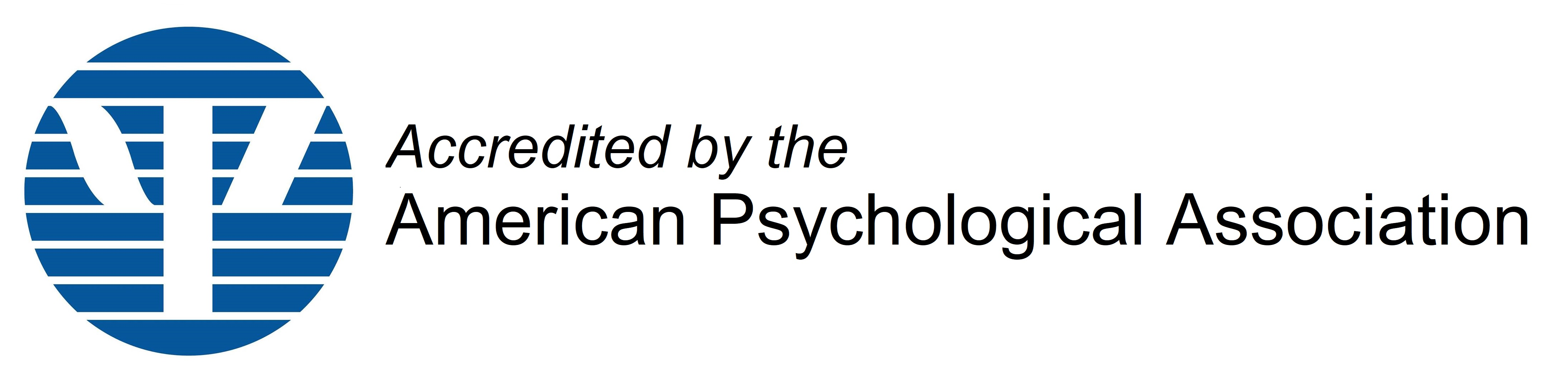 American Psychological Association accreditation - logo