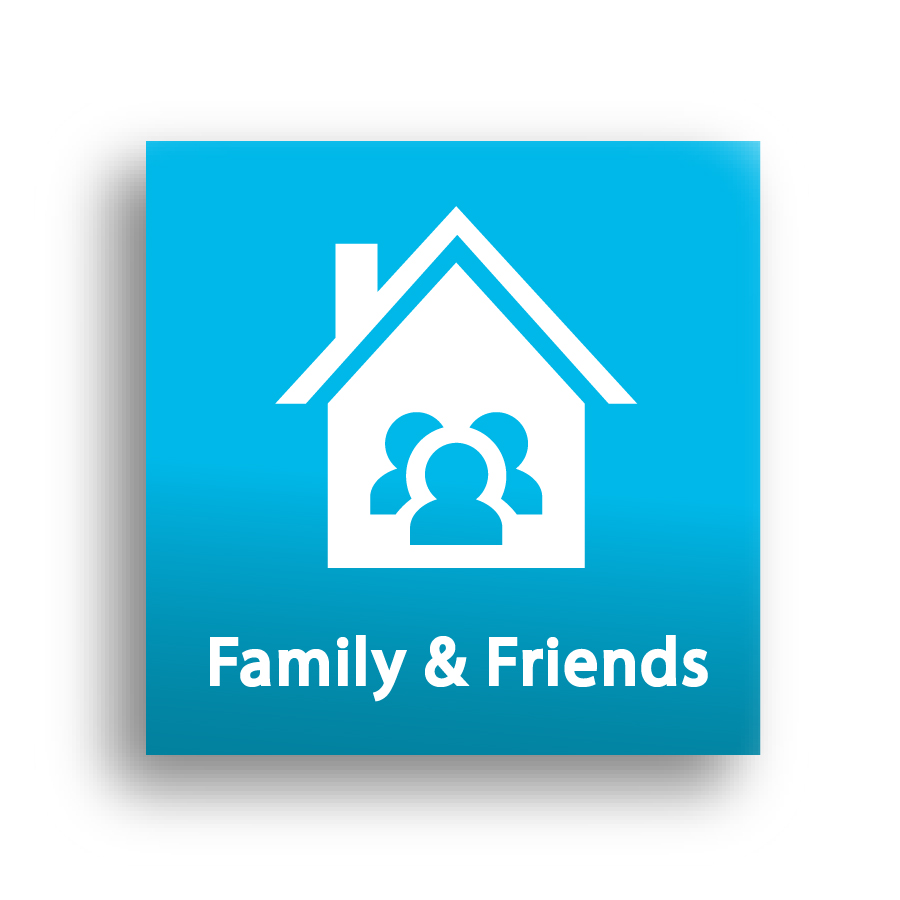 Family & Friends Icon