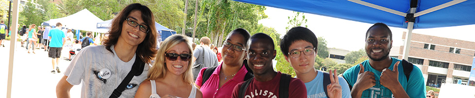 Students enjoying market days