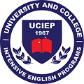 University and College intensive English program logo