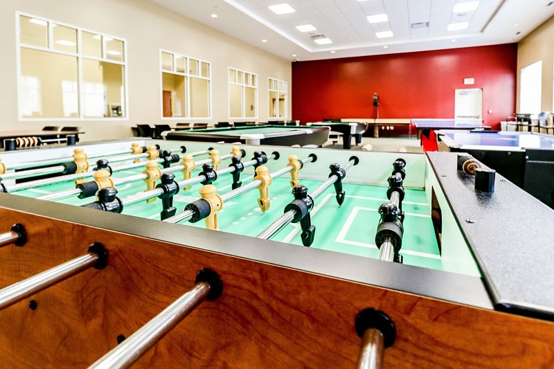 Osprey Fountains game room.