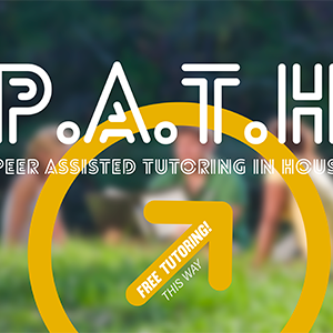 Peer assisted tutoring in housing sign