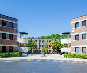 Osprey Crossings three story residence hall