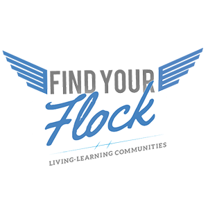 Find your flock logo