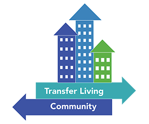Transfer living community logo