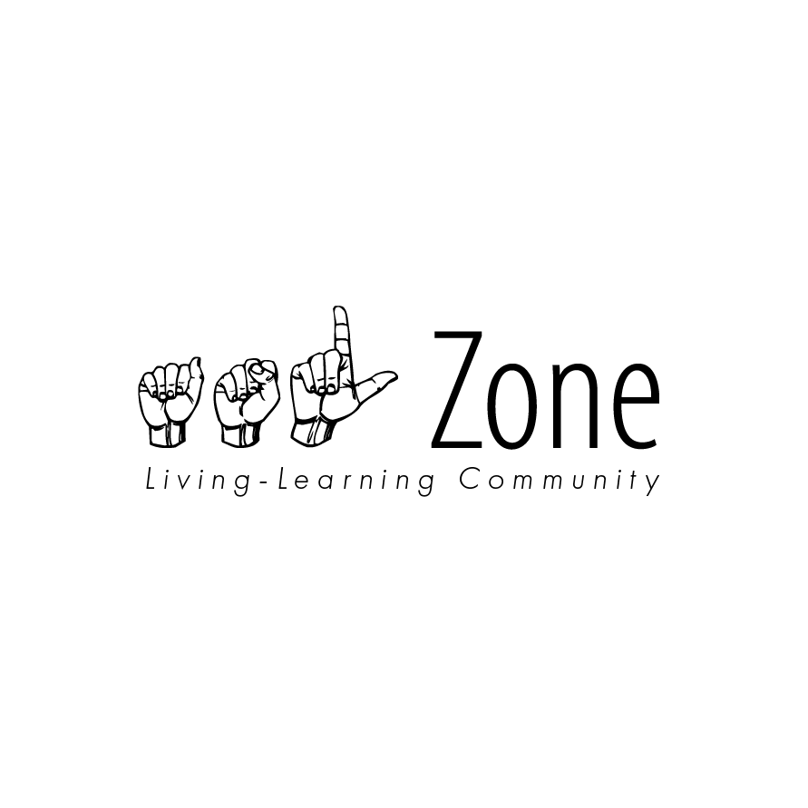ASL zone living learning community logo