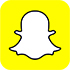 Snapchat Logo with yellow rounded corner square with a silhouette of a white ghost with a black outline