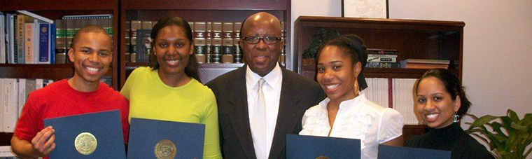 2010 MLK Scholarship winners