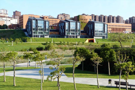University of Cantabria panoramic view of campus