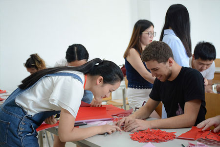 Faculty led china paper activity