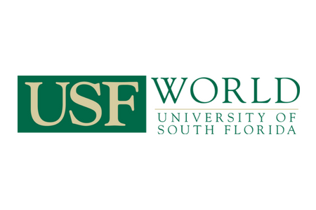University of South Florida world logo