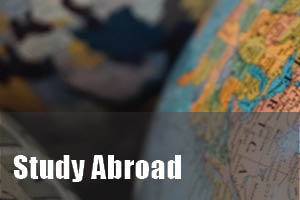 three globes fro study abroad section