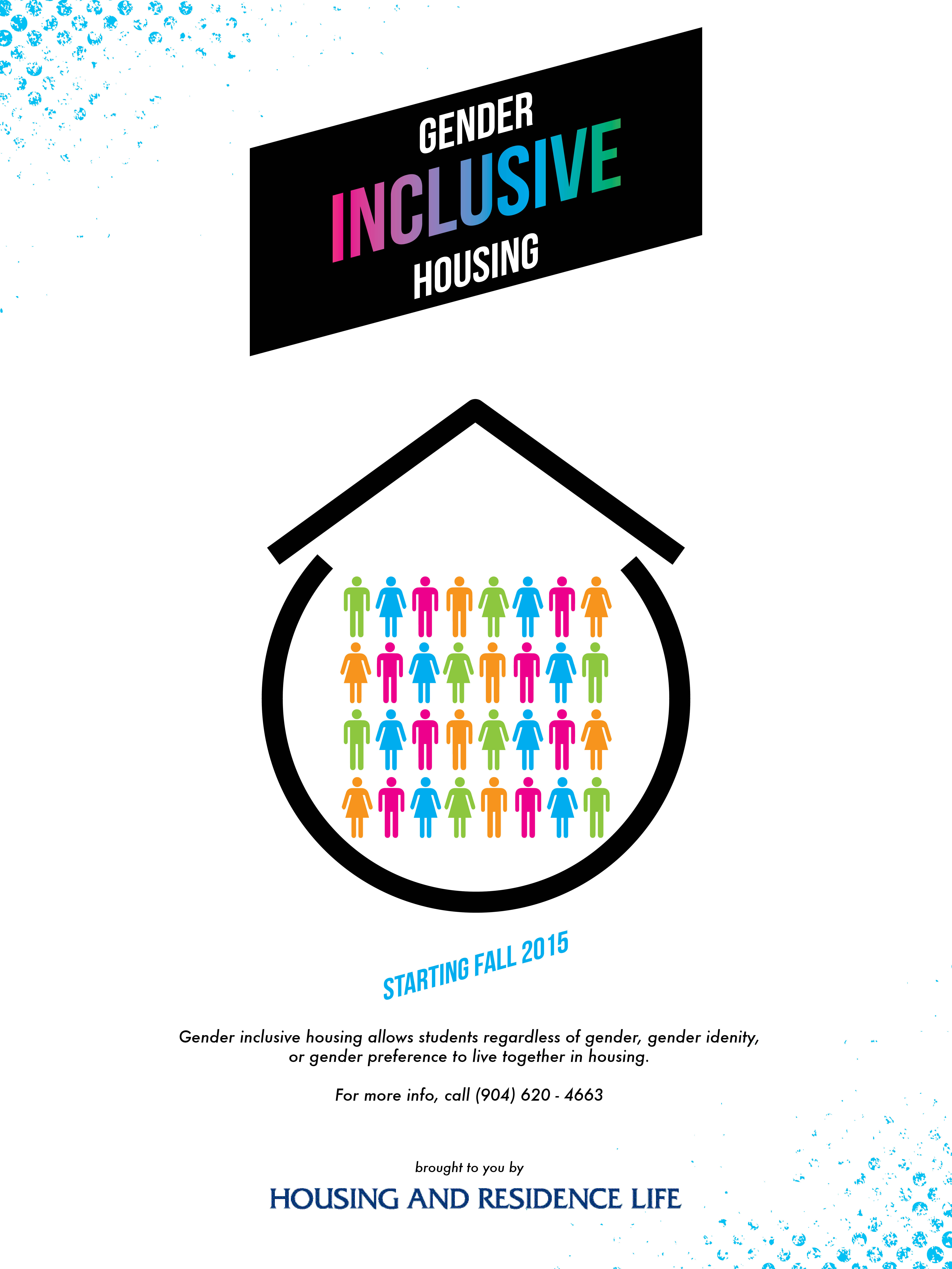 Gender Inclusive Housing Logo.